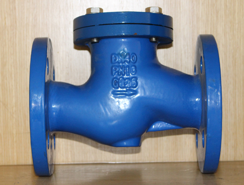 Selection of check valve